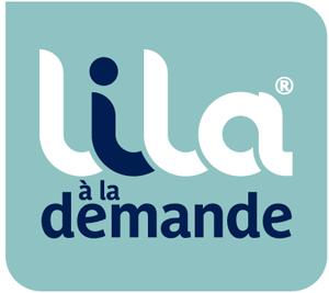 Logo Lila à la demande