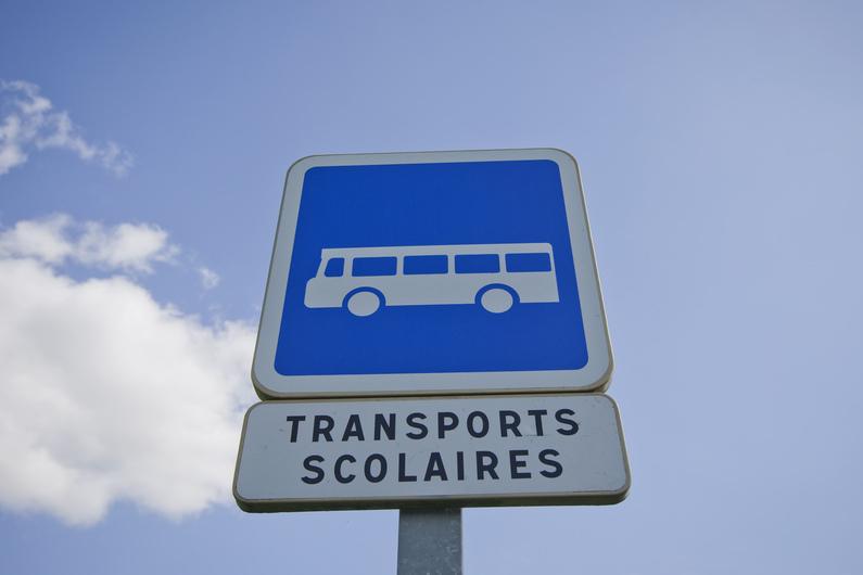 Panneaux transports scolaire